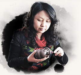 宜兴紫砂壶名家-许智萍-工艺美术师