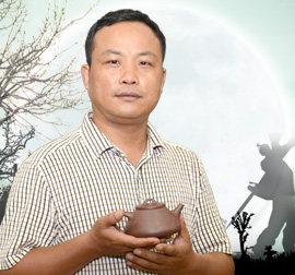 宜兴紫砂壶名家-陈宏林-高级工艺美术师