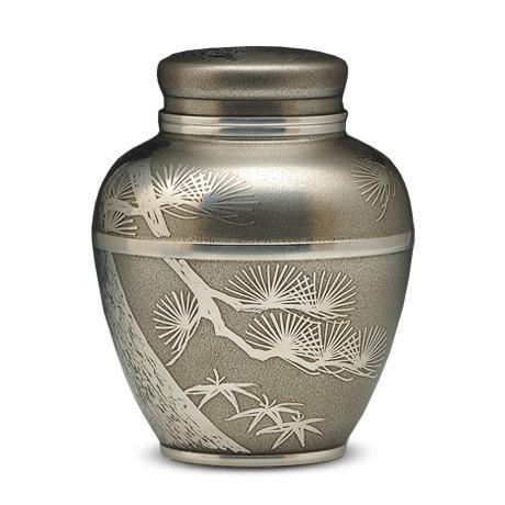宜兴博亿堂娱乐壶-大阪锡器 苍松茶叶罐(大)--其他