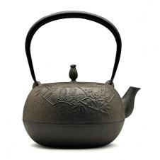 松竹梅生型铁壶