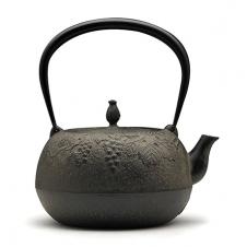 葡萄纹生型铁壶
