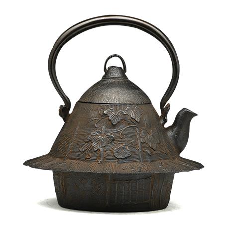 100%日本堂口直供-葛屋铁壶