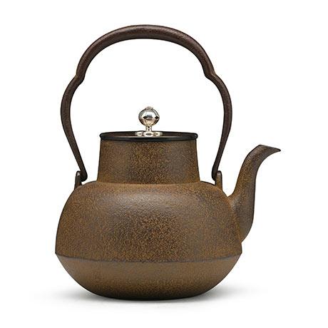 100%日本堂口直供-清光堂 甑口形老铁壶
