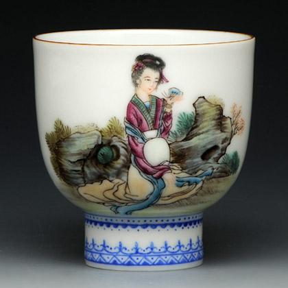 紫砂之家_古盏堂--专注建阳建盏|品茗杯|主人杯|白瓷杯--倾城色
