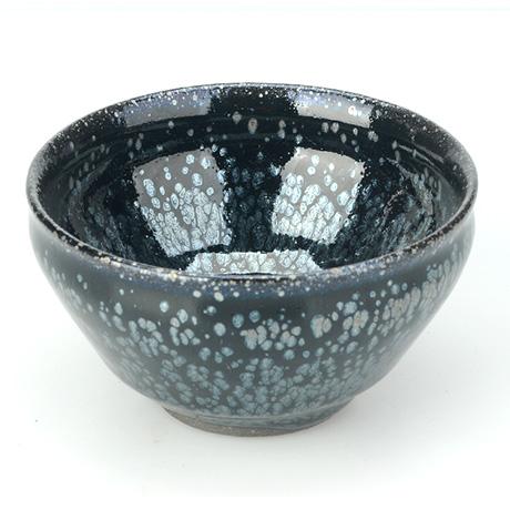 博升国际娱乐之家_古盏堂--专注建阳建盏|品茗杯|主人杯|白瓷杯-黑釉银斑束口盏