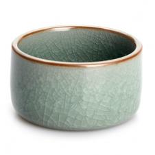 紫砂之家_古盏堂--专注建阳建盏 品茗杯 主人杯 白瓷杯--冰裂直口杯