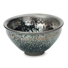 紫砂之家_古盏堂--专注建阳建盏|品茗杯|主人杯|白瓷杯--银油滴束口盏