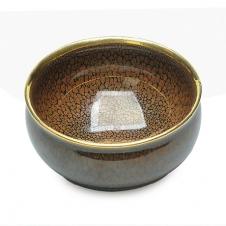 紫砂之家_古盏堂--专注建阳建盏|品茗杯|主人杯|白瓷杯--黄鹧鸪斑描金香炉盏
