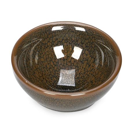 紫砂之家_古盏堂--专注建阳建盏 品茗杯 主人杯 白瓷杯-鹧鸪斑束口盏