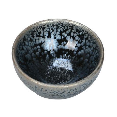 紫砂之家_古盏堂--专注建阳建盏|品茗杯|主人杯|白瓷杯-星空油滴敛口盏