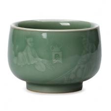 紫砂之家_古盏堂--专注建阳建盏|品茗杯|主人杯|白瓷杯--陆羽煮茶青瓷杯