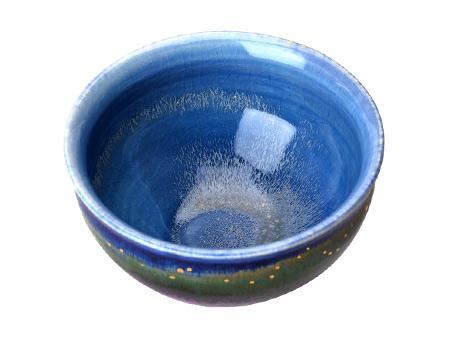 薰衣草茶碗