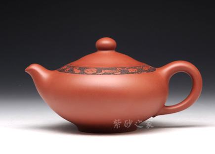 茗香壶-原矿红皮龙