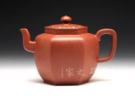 连连蹬高茗壶-原矿紫泥