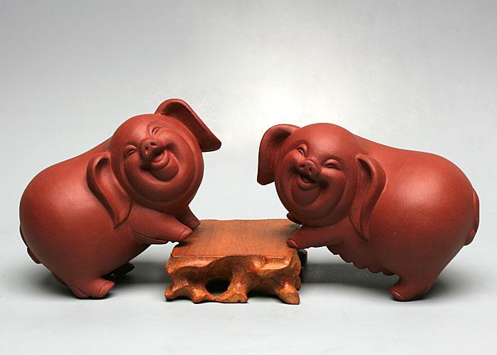 【 福猪 (雕塑) 】
