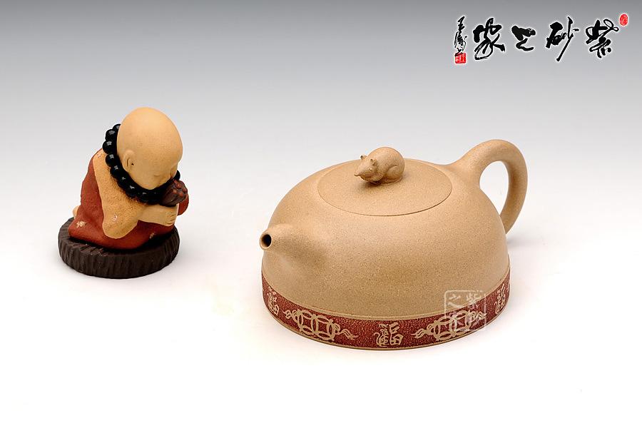 陶艺作品可爱鼠