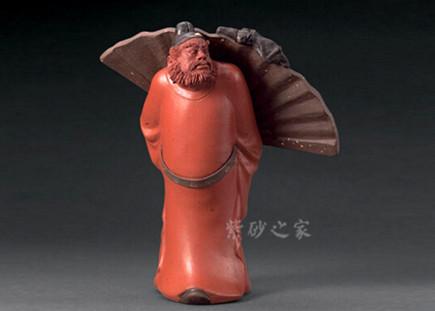 紫砂钟魁雕塑图片欣赏-紫砂壶图片频道-紫砂之家