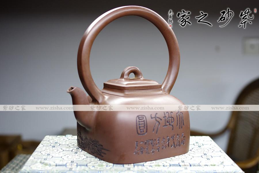 天地茶壶高清矢量图