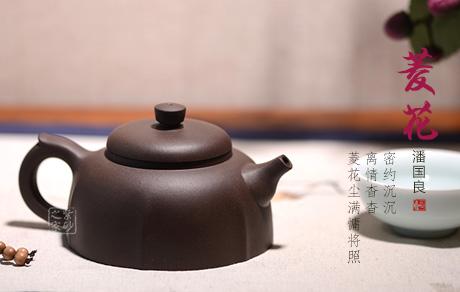 宜兴博亿堂娱乐壶-菱花-赏析