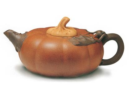 茶盘木雕南瓜图片