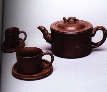 五头竹段茶具