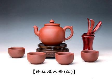玲珑戏水套(红)