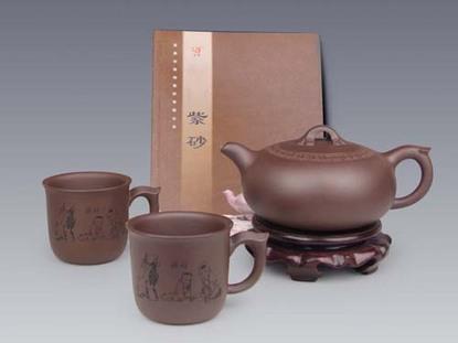 爱心茶具(紫)