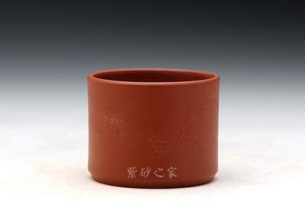 朱泥品茗杯(无底)
