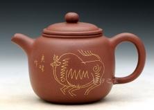 镶金匏尊(神牛)韩美林装饰