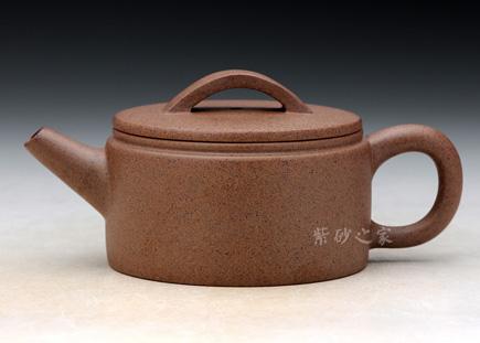 宜兴紫砂-窑变汉瓦-原矿段泥-蒯良荣