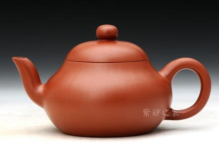 宜兴紫砂-高梨形-原矿朱泥-杨小泉