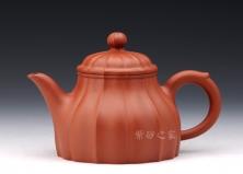 宜兴紫砂壶-欣逸壶-原矿清水泥-吴贞裕