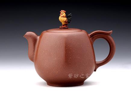鸡(12生肖系列)-原矿紫泥