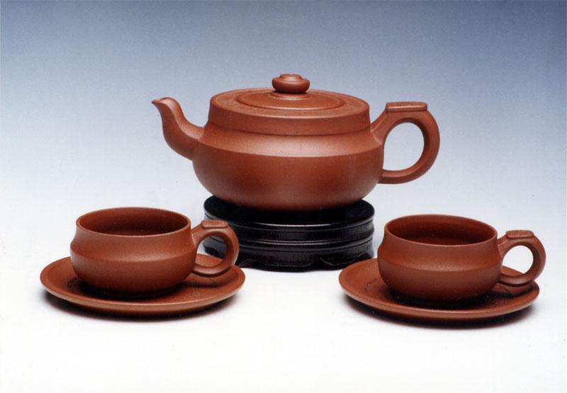 五件游仙茶具