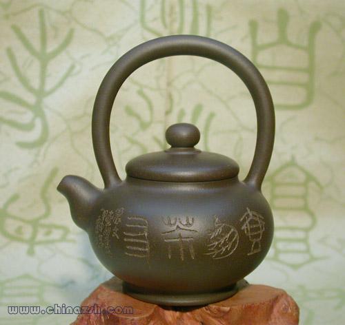 茶友提梁壶