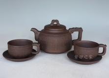 青龙印纹茶具