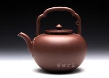 博升国际娱乐壶-优-吴径提梁-原矿紫泥-周芳军