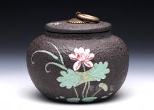 茶叶罐-小荷花