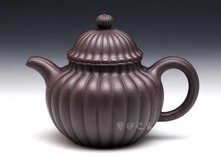 筋纹掇球-紫茄泥
