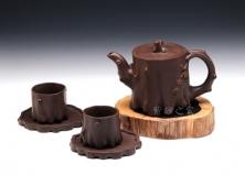 五头梅桩茶具