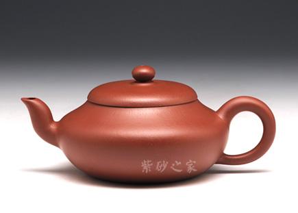 宜兴紫砂-矮梨形-原矿朱泥-沈寅华