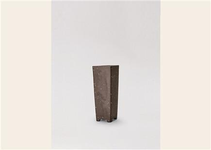 黑砂四方浮雕高筒