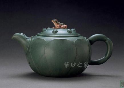 青蛙莲子壶