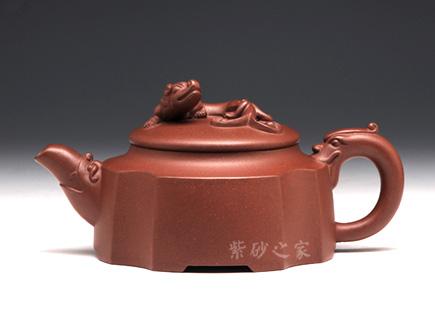 紫砂壶金奖作品-王涛-汉璞壶