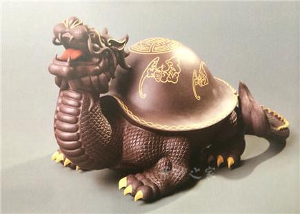 24K金五福龟龙