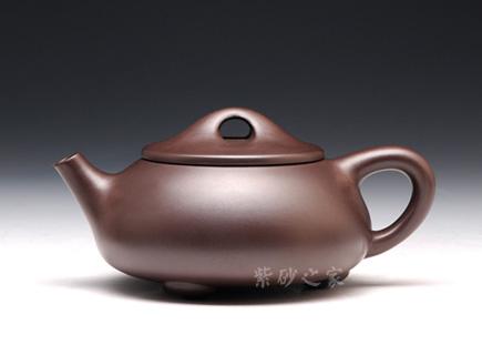 紫砂壶金奖作品-陈正初-石瓢(光)