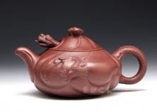 鱼化龙(紫茄泥)