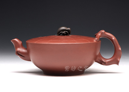 宜兴紫砂-知足常乐-原矿清水泥-宗志仙