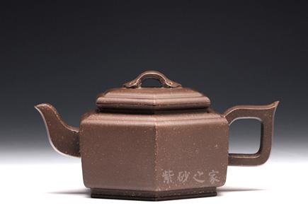 六方壶-原矿紫泥