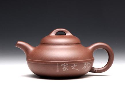 宜兴紫砂壶-线圆-江晓燕